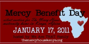 ::Mercy Benefit Silent Auction::