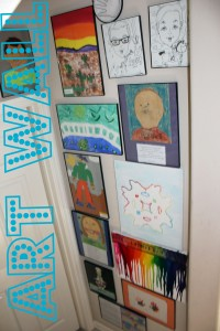 Family Art: Create a Water Color Snowflake