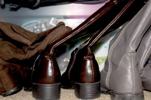 WFMW: Store Your Boots