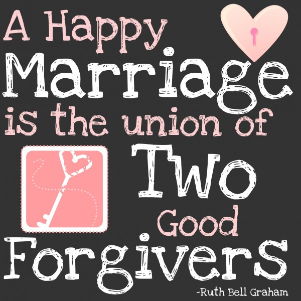 Happy Marriage Quotes: The Key To A Good Marriage {Free Printable}