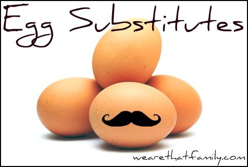 Wfmw egg substitutes kristen welch - Alternative uses for eggs ...