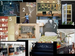 WFMW: Top 10 Favorite Chalkboard Projects