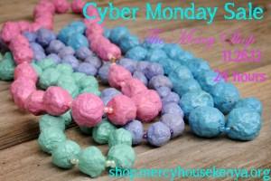 Cyber Monday Mercy Shop Sale