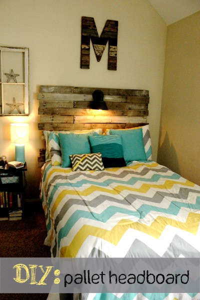 Diy Pallet Headboard Kristen Welch