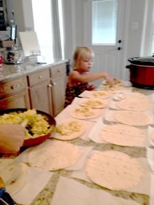 WFMW: Breakfast Burritos in Bulk