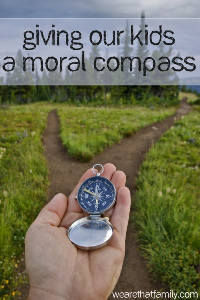giving our kids a moral compass
