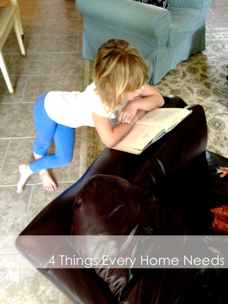 4 things every home needs