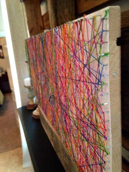 Wfmw diy inspiring string art kristen welch for Group craft ideas for adults