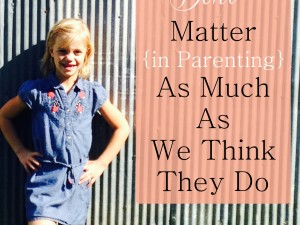 5 things that dont matter as much as we think they do